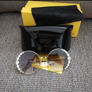 🔝FENDI Runway Swarovski Sunglasses